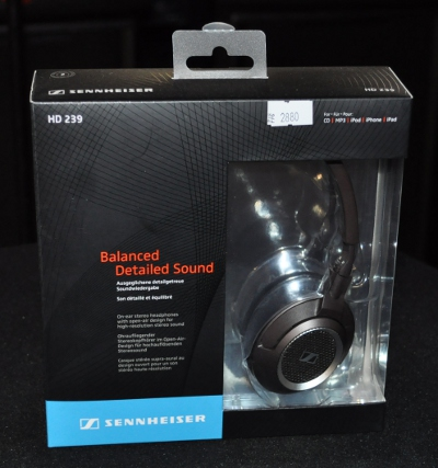 Sennheiser HD 239 West в упаковке